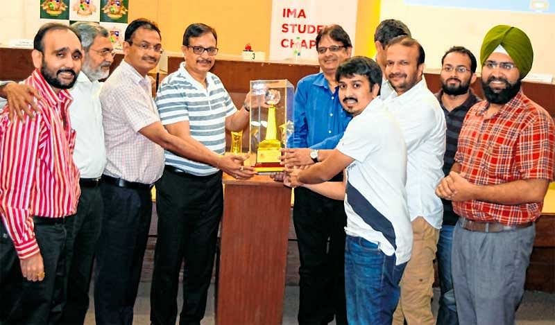 Quiz for corporates and Students held at IMA