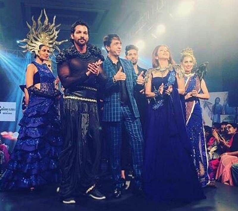 Harshvardhan Rane turns showstopper for the opening day of Mysore Fashion Week!
