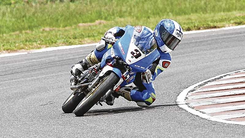 Double for Jagan Kumar in national motorcycle racing