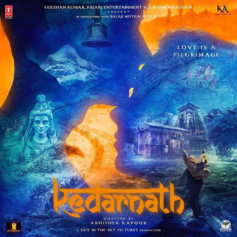 First poster of Sushant and Sara's Kedarnath gives major hints about the plot