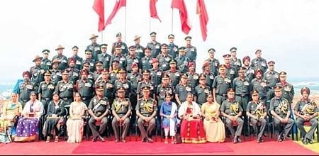 Bhopal: Investiture ceremony of Army's Southern Commandheld