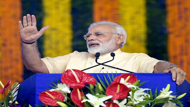 On Birthday, PM Narendra Modi received 400 cheques of 68 paise from drought-hit Andhra farmers