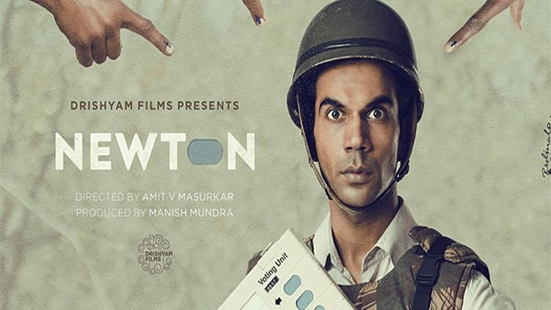 'Newton' maintains lead over 'Bhoomi,' 'Haseena Parkar' on first Monday