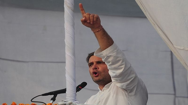 BJP and Modi busy dividing society, says Rahul Gandhi