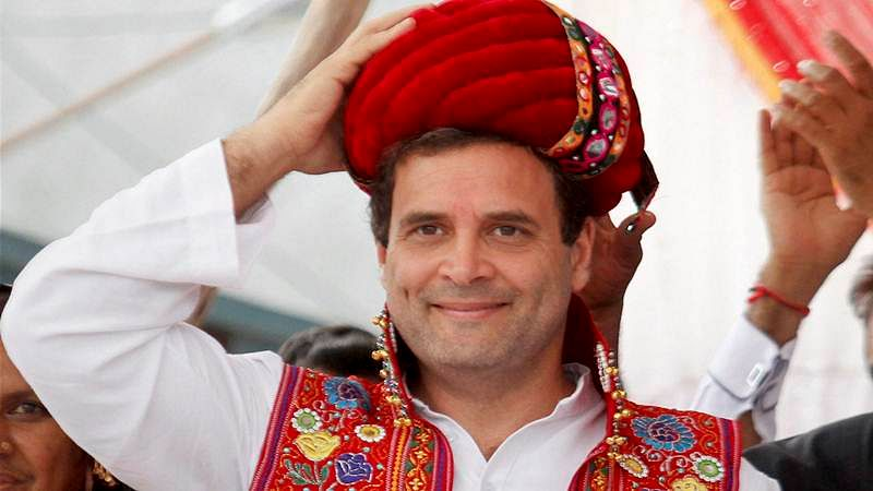 Rahul Gandhi woos Patidars, invokes legacy of Sardar Patel