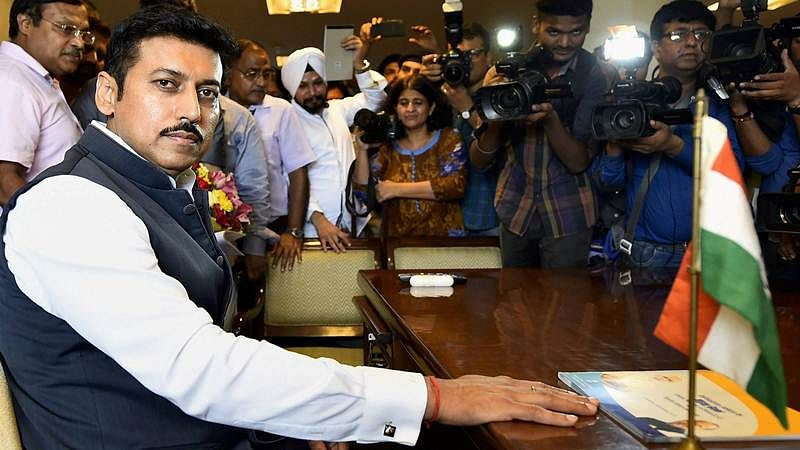 Sportspersons the only VIPs, says new Sports Minister Rajyavardhan Singh Rathore