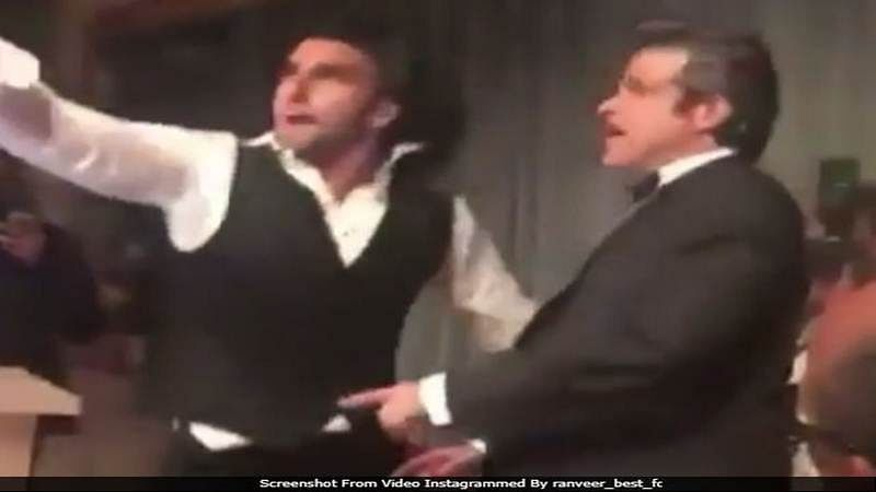 Watch! Ranveer Singh, Anil Kapoor set the stage on fire at wedding function