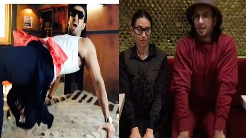 Must watch: Ranveer Singh and Karisma Kapoor dancing on 'sarkaye lo khatiya' is hilarious