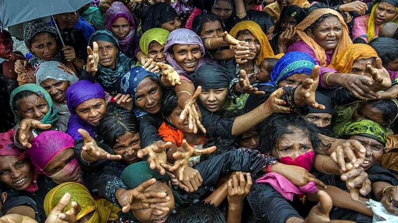 Rohingya refugees demand justice on crackdown anniv Agencies