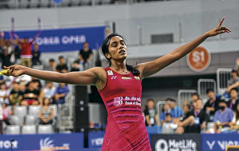 Shuttler P V Sindhu avenges World Championship loss, beats Okuhara to lift Korea Open title