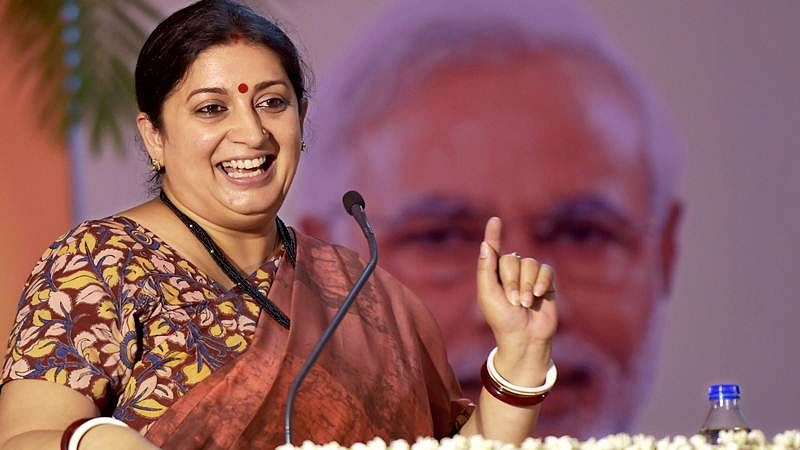 Smriti Irani: New India is defined by people who dare to dream