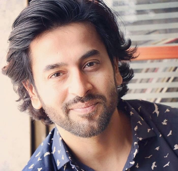 Shashank Vyas goes for a rugged look!