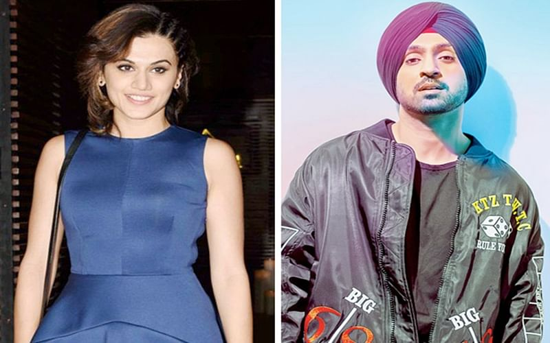 WOW! Taapsee Pannu to star opposite Diljit Dosanjh in the untitled Shaad Ali film