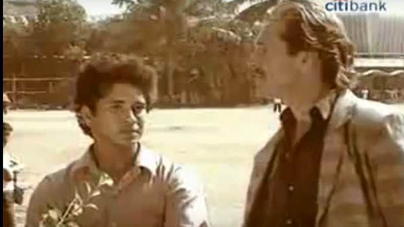 Tom Alter was the first person to interview Sachin Tendulkar when he was 15