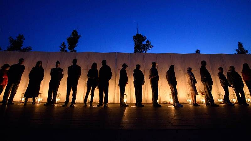 US commemorates 9/11; thousands expected at ground zero