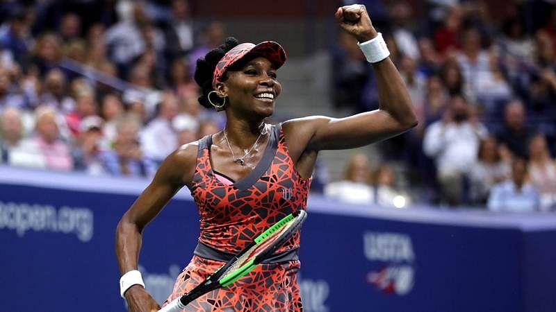US Open 2017: Venus outlasts Kvitova to set up all-American semi-final clash with Sloane Stephens