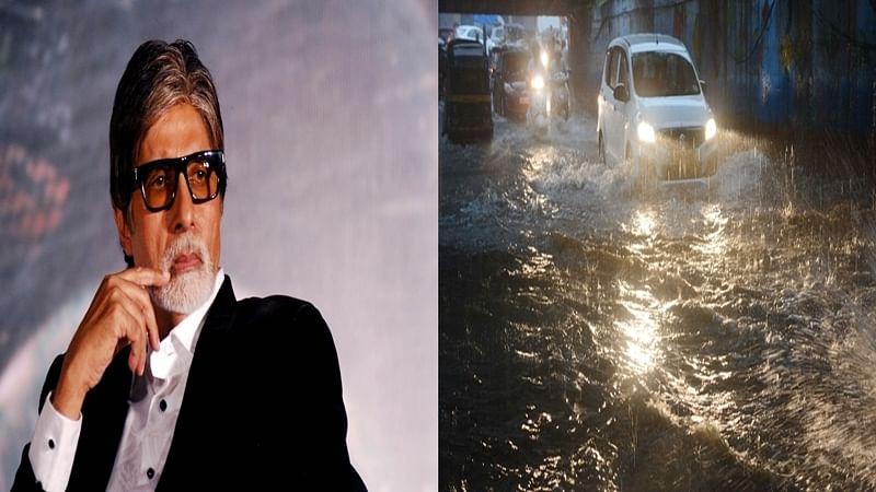 Mumbai Rains: Amitabh Bachchan thinks 'Gods Are Angry' on us