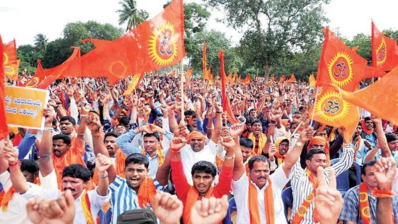 UP: Activists of Hindu organizations razed public toilets to the ground in Saharanpur district