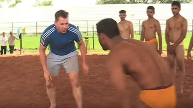 Watch Video: Aussie Brett Lee shows off his 'Dangal' skills, and he's mighty impressive