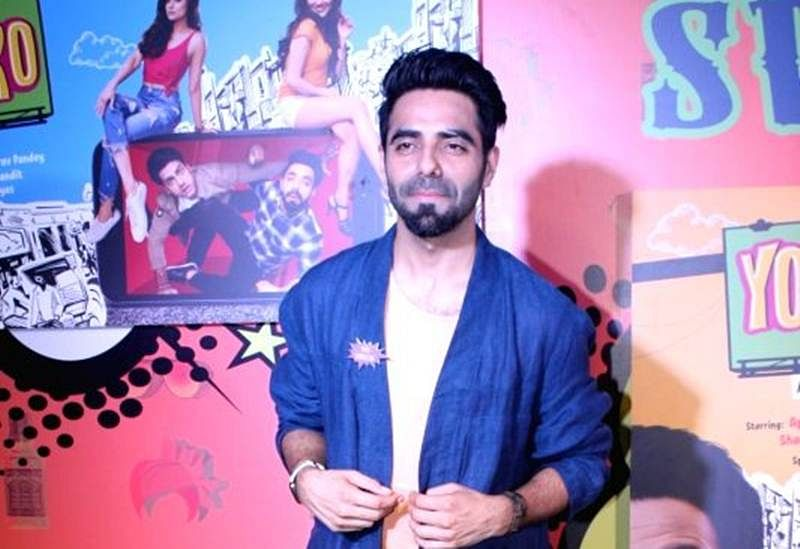 Aparshakti Khurana says music is the best way to connect with the Almighty
