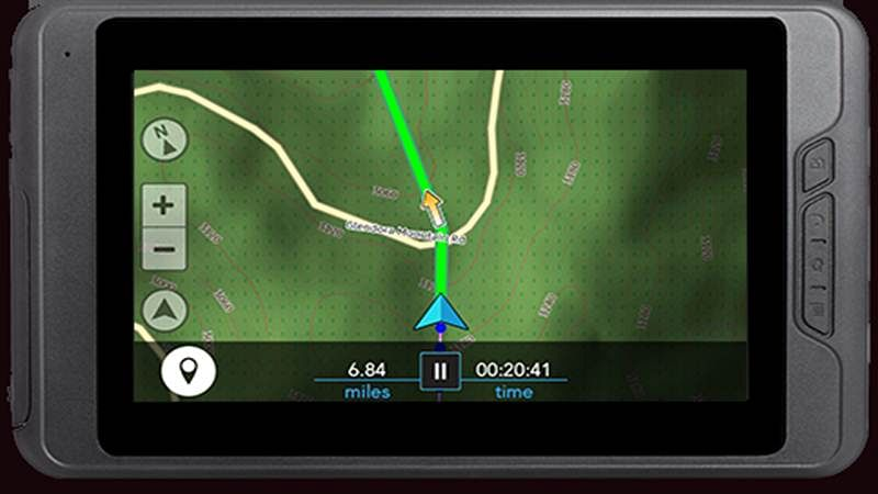 Off-road GPS navigation, concepts and software