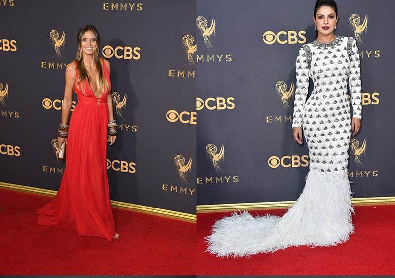 Emmys put feminine foot forward