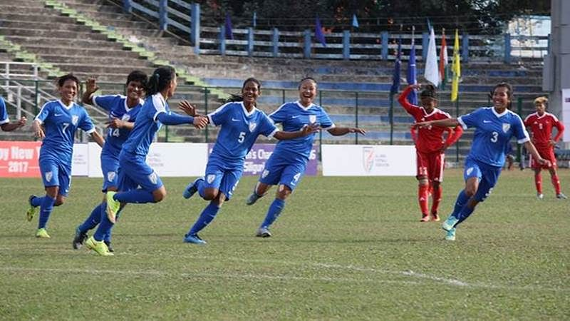 Indian women's football team rises four places to 56th in FIFA rankings