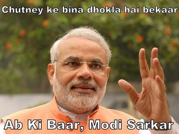 When PM Narendra Modi became a subject of hilarious memes and jokes
