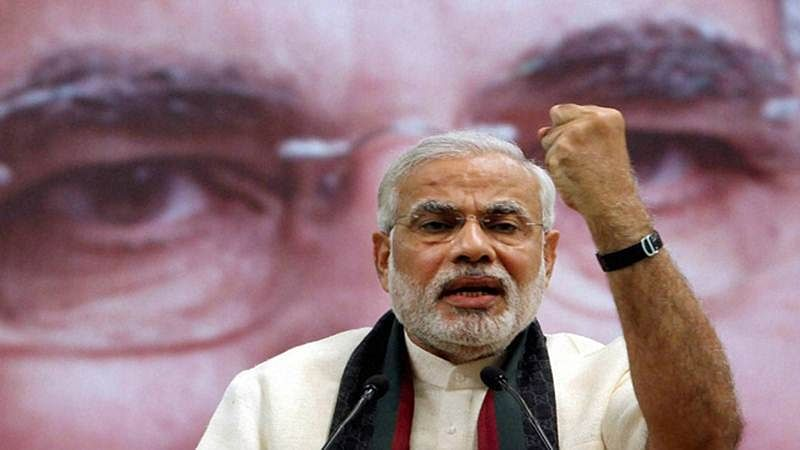 Gujarat Assembly Polls: Emotional Modi harps on a 'son of Gujarat' theme