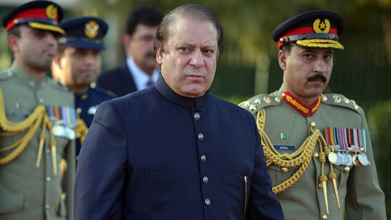 Nawaz Sharif arrives at court for trial in corruption case
