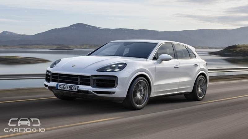 The 550PS Third-Gen Porsche Cayenne Turbo Is Heading To India
