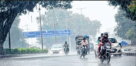 Bhopal: Rain brings much need relief from humidity in city