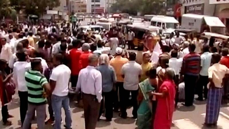 Protest erupts in Tamil Nadu over suicide of NEET petitioner Anitha