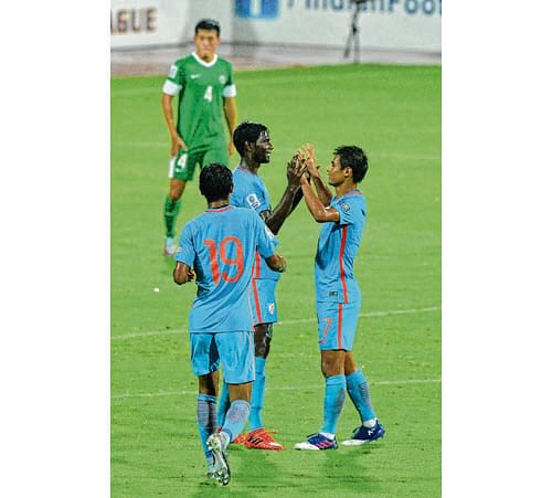 India qualify for 2019 AFC Asian Cup after beating Macau by 4-1