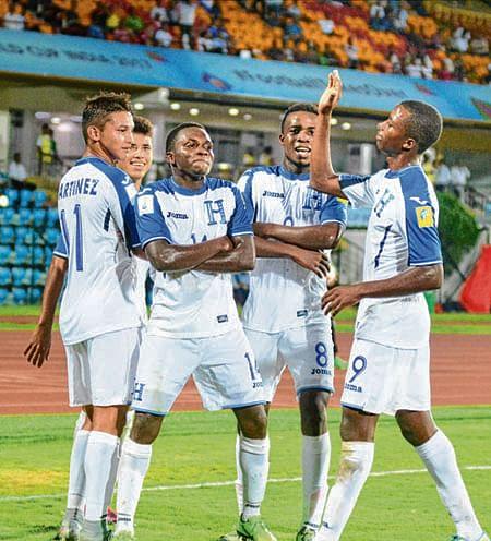 Honduras thrash New Caledonia 5-0