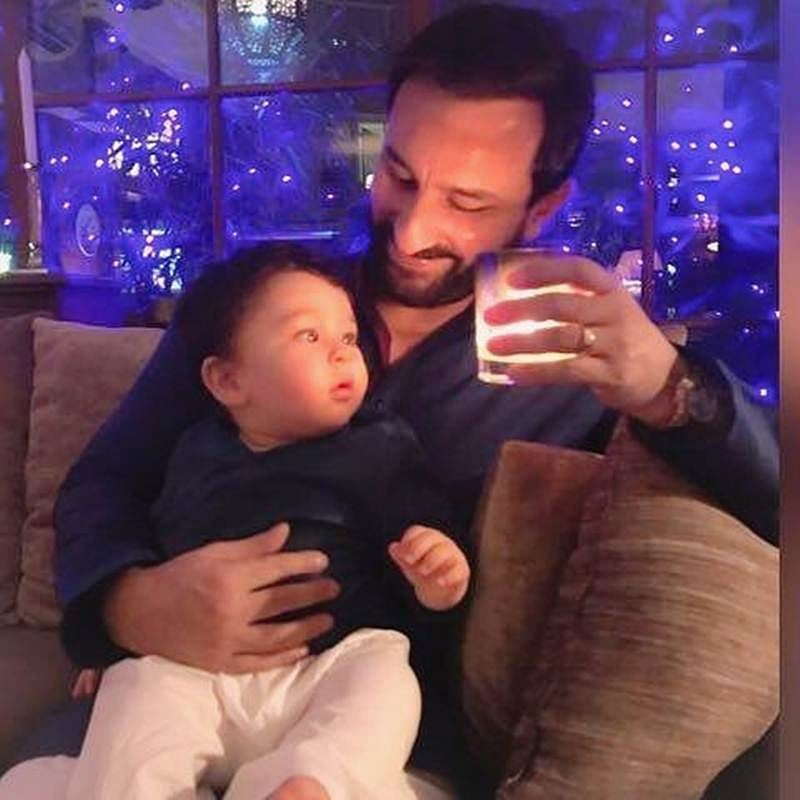 In Picture: Saif-Taimur Ali Khan's adorable father-son moment is winning hearts