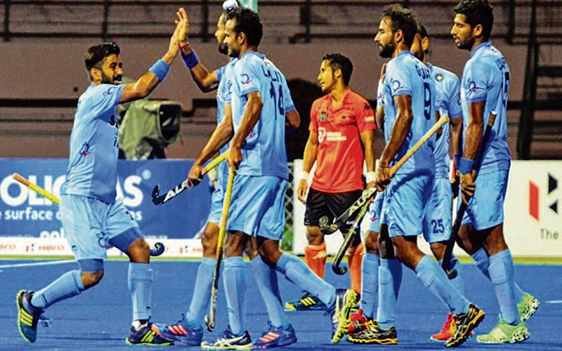 Dominant India maul Pak 4-0 to enter Asia Cup final