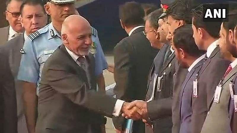 Afghan President Ashraf Ghani arrives in Delhi, will meet PM Modi, President Kovind
