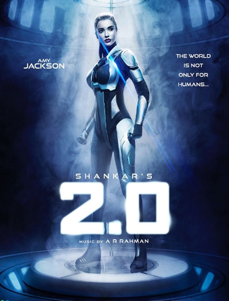 FIRST LOOK! Amy Jackson's ROBOT look from the '2.0' is a surprise