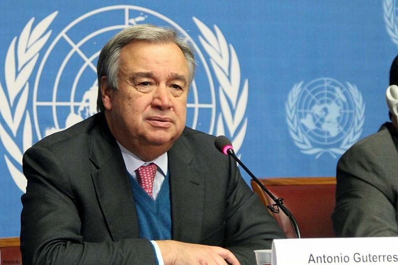 UN chief Antonio Guterres 'outraged' by terror attacks in Afghanistan