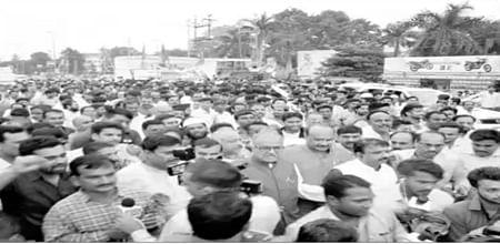 Bhopal: BJP protests Kerala murders