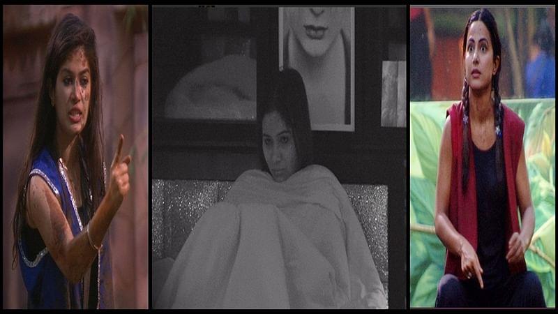 Bigg Boss 11: Akash Dadlani and Hina Khan become aggressive at each other while Bandgi Kalra warns Hina; Day 23 fight