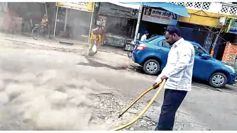 MBMC warns contractors: Repair potholes properly or get blacklisted