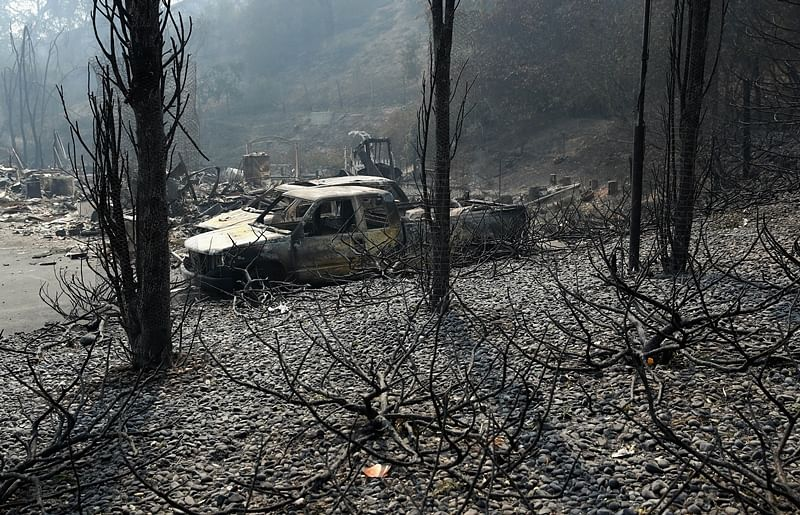 California wildfires death toll rises to 15