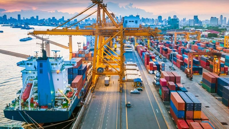 Exports rise for 13th straight month, trade deficit narrows