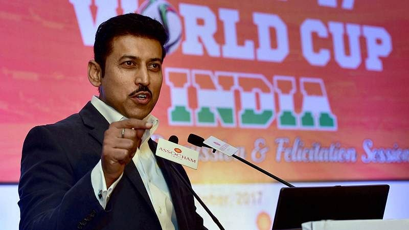 FIFA U-17 WC good chance for India to prove mettle, says Rajyavardhan Singh Rathore