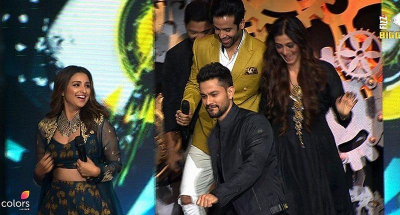 Bigg Boss 11: See how Ajay Devgn, Tusshar Kapoor, Parineeti Chopra and Rohit Shetty created Golmaal with Salman Khan