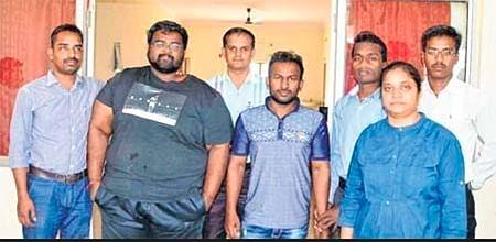 Ujjain: High-tech frauds involved in illegal online transactions nabbed