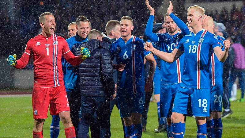 Iceland qualifies for World Cup 2018 in Russia, becoming smallest smallest nation to reach tournament