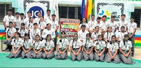 Ujjain: Newly elected office-bearers pledge to uphold school's motto